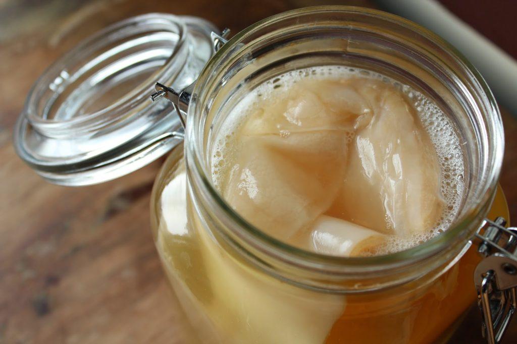 fermentación del té de kombucha