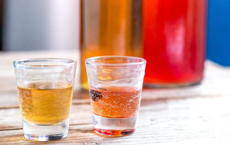 bebida efervescente de kombucha